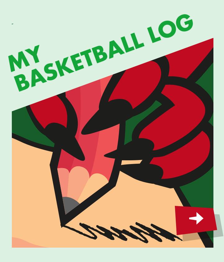 Basketball log icon
